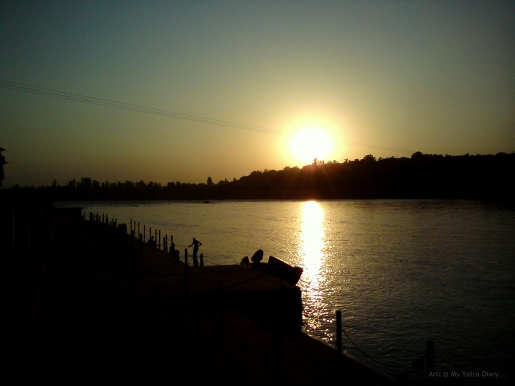Enchanted by the River Ganga... at Rishikesh