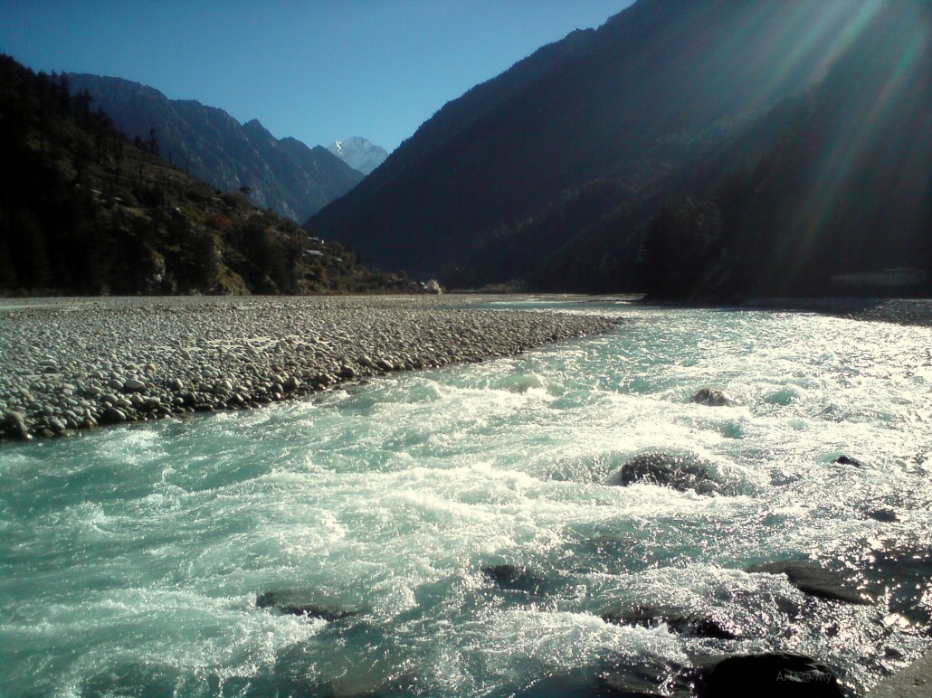 River Ganga, Harisl, Char Dham, Himalayas
