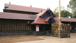 The Kaviyoor Mahadeva Temple is one of the oldest Shiva temples of Kerala. This thousand year old temple depicts Pallava architecture.