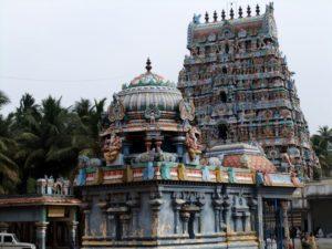 Raaghu Bagavan tempel, Thirunageswaram
