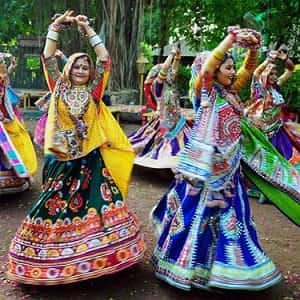 Celebrating Navratri