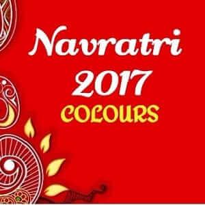 Colors for Navratri