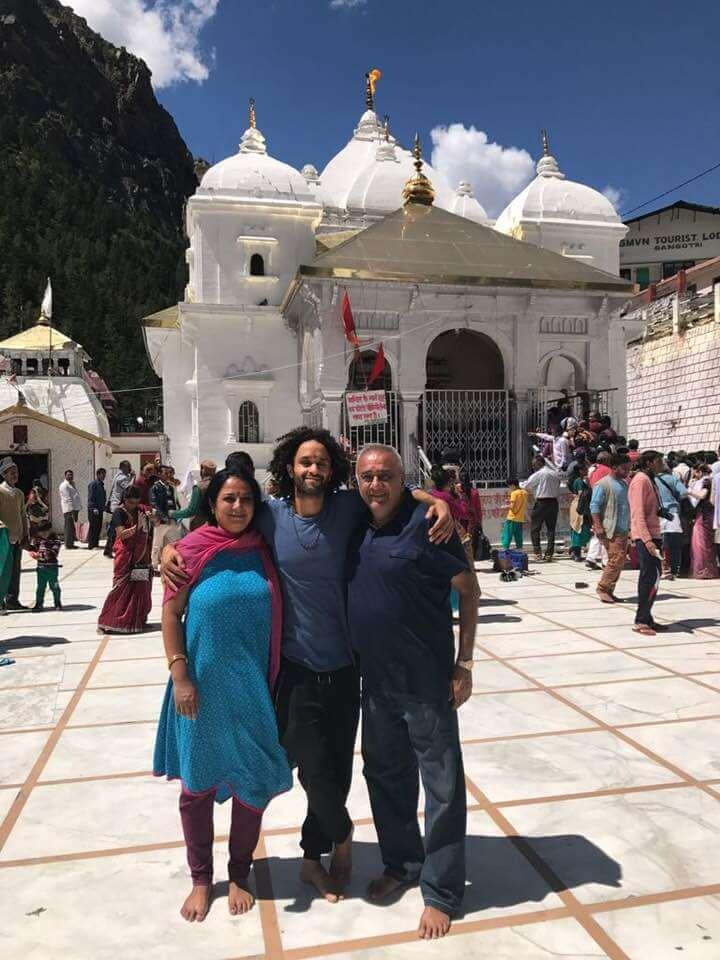 Ashok at Gangotri