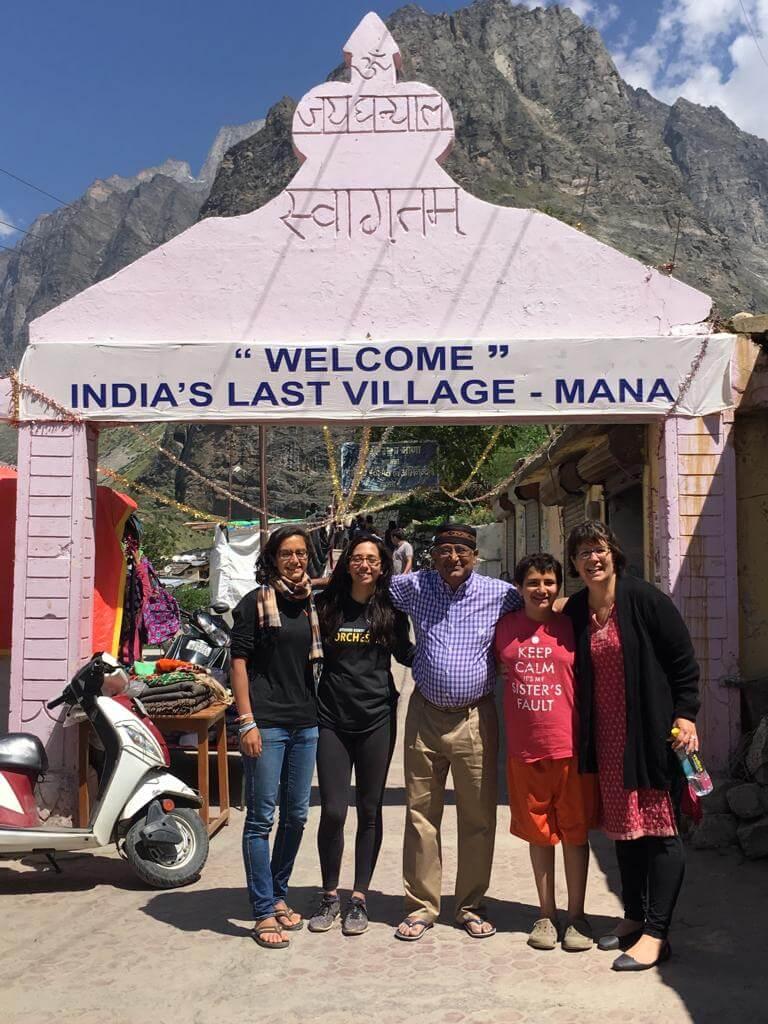 Customers at Mana Village Badrinath