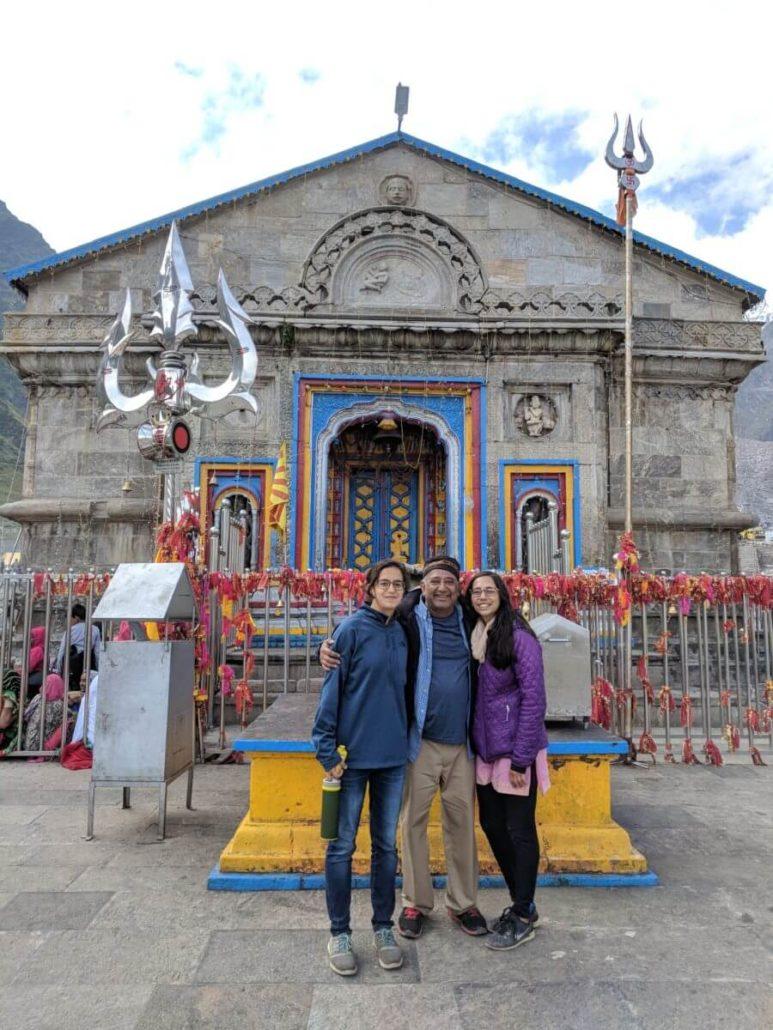Raghu from USA at Kedarnath