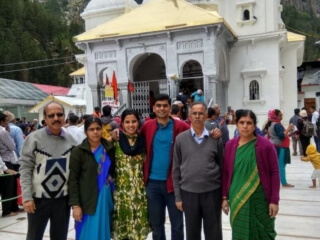 Abhinandan Family at Gangotri