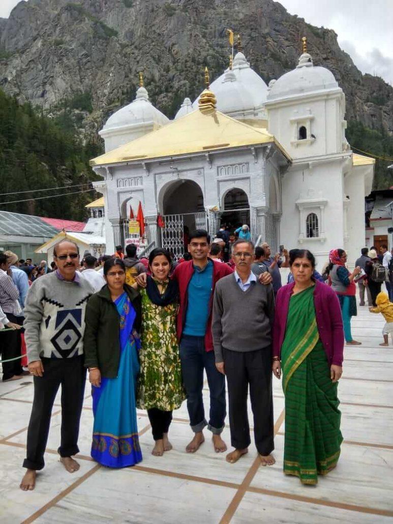 Abhinandan Family at Gangotri