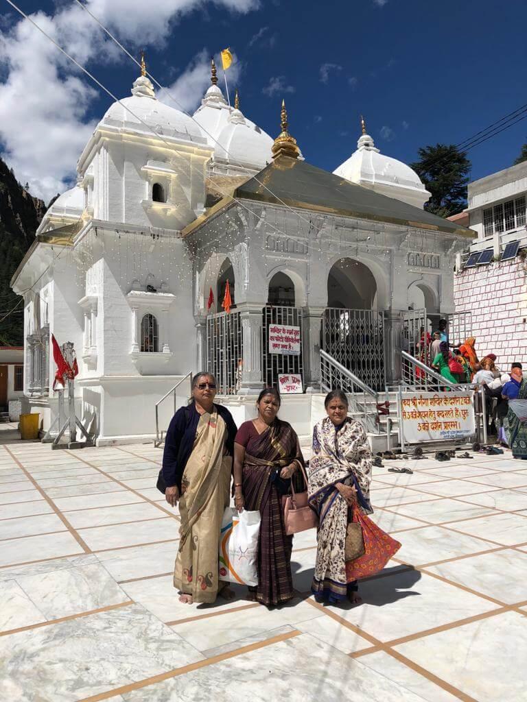 Madhuranath Family at Gangotri Dham