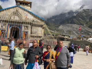 Madhuranath Family at Kedarnath Dham