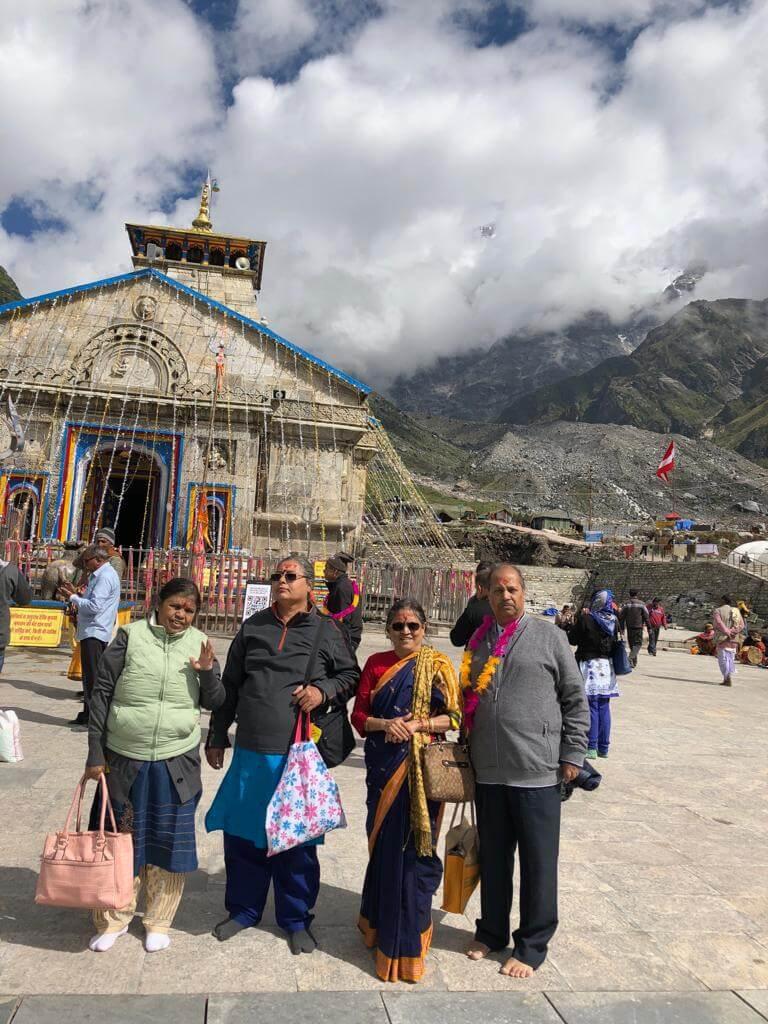 Madhuranath Family at Kedarnath Dham