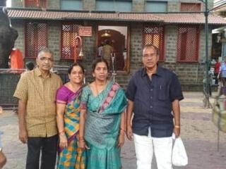 Customers at Maharashtra Jyotirlinga
